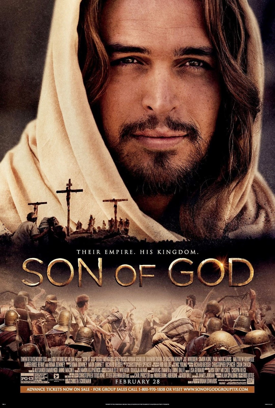 Jake says stuff!!: Compare and Contrast: 'Son of God' VS 'The