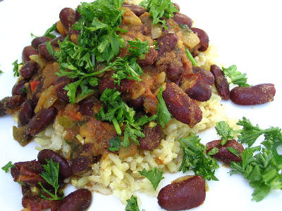 Punjabi Rajma (Red Kidney Bean Curry)