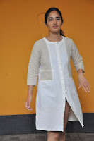 Radhika Cute Young New Actress in White Long Transparent Kurta ~  Exclusive Celebrities Galleries 087.JPG