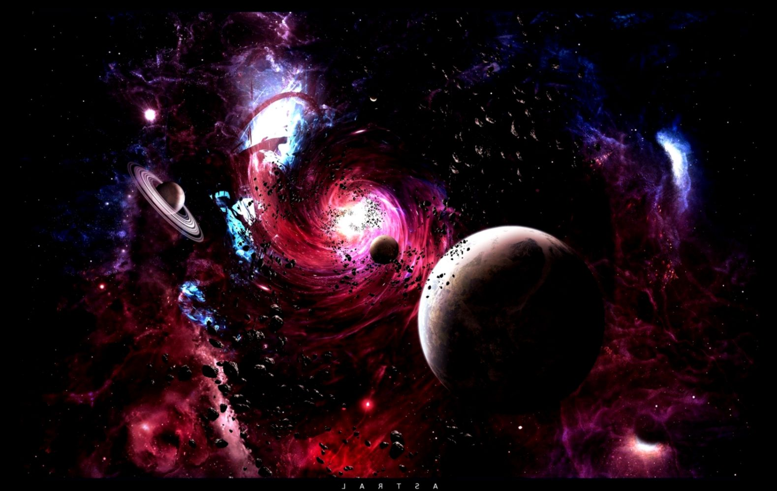 Space Galaxies Planets Hd Wallpapers Wallpapers Quality