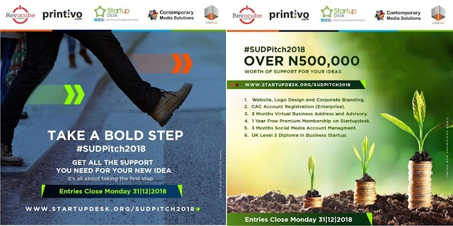 Step Up Your Idea with  StartUp Desk sudpitch2018