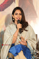 Actress Rakul Preet Singh Stills in Blue Salwar Kameez at Rarandi Veduka Chudam Press Meet  0055.JPG