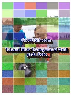 Tutorial Efek Transparansi grid pada Foto di CorelDraw