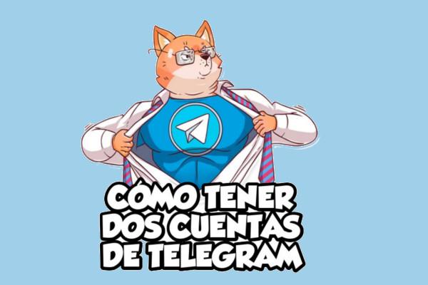 Cómo tener dos cuentas de telegram en un terminal