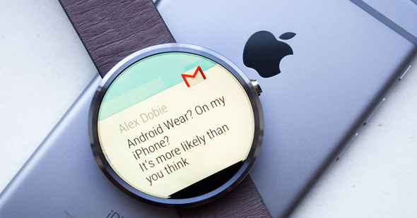 The smartwatches Android already support iPhone