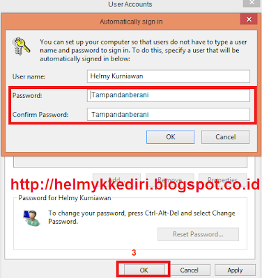 Mematikan Login Password pada Windows