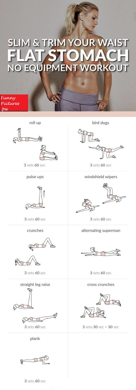Easily whip your tummy into shape