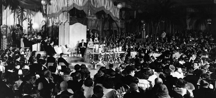Image result for oscar ceremony 1929