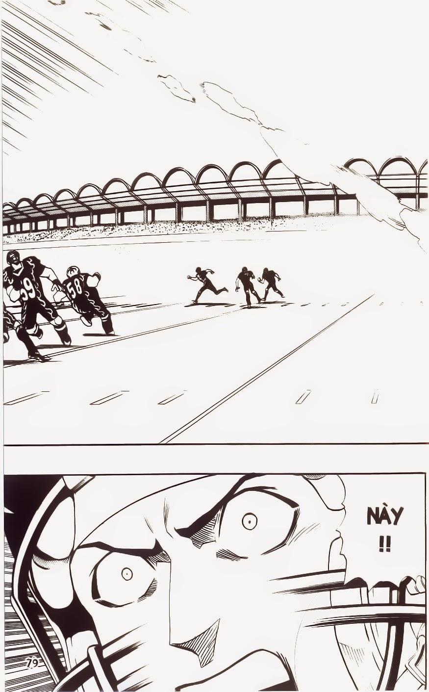 Eyeshield 21 chapter 182 trang 12