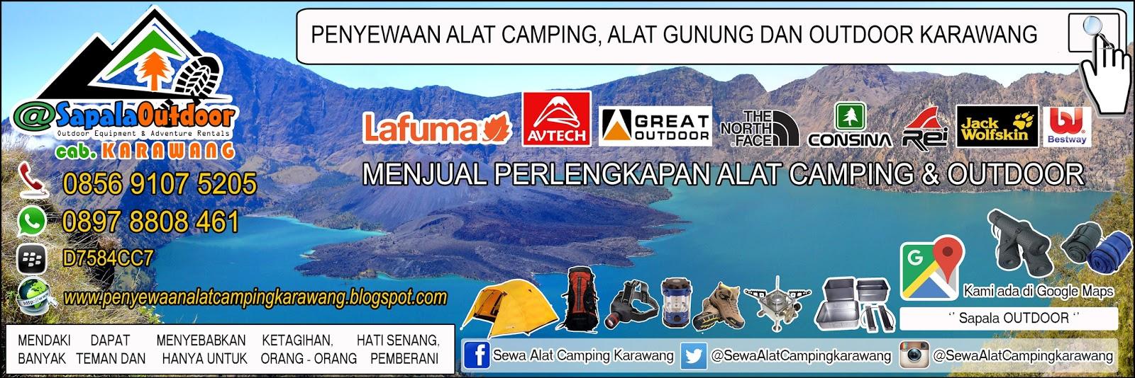 Sewa Alat Camping Di Karawang