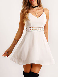 WHITE DRESS | PRETTY FUSION
