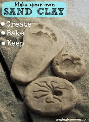 sand clay beach craft