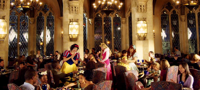 Cinderella's Royal Table em Orlando