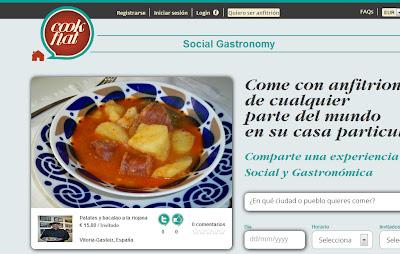 NUEVA ECONOMÍA - Cookflat, para comer o cenar en casas particulares 1