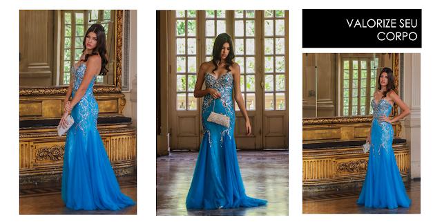vestido festa de formatura bordado bh longo clássico atemporal calda
