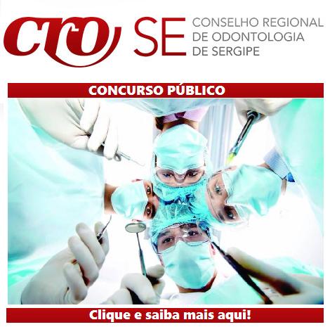 CRO-SE anuncia concurso para 04 vagas de Assistente e Analista