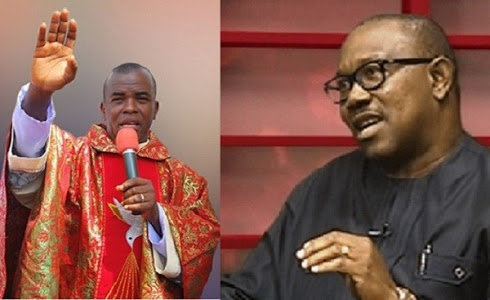 Peter Obi Reacts To Father Mbaka's Statements