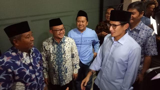 Sandiaga Uno Kembali Sambangi PP Muhammadiyah