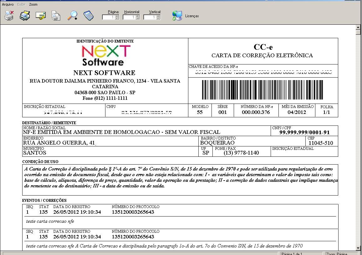 Next Software Sistemas Erp E Nota Fiscal Eletrônica Nf E