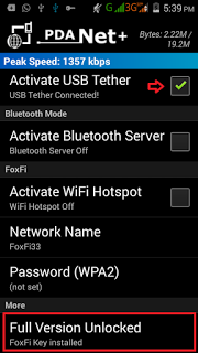 How To Tether Internet VPN Connection To PC