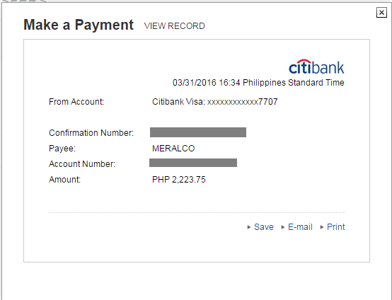 How To Pay Your Meralco Bill Using Your Credit Card? - My How To Diary