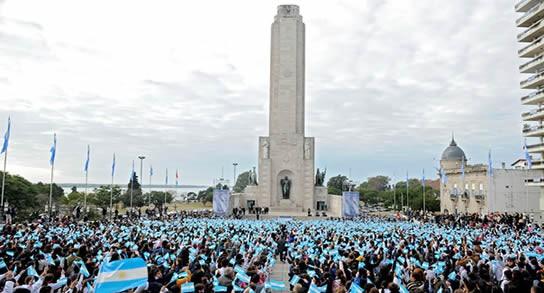 204 Aniversario de Creacion de la Bandera