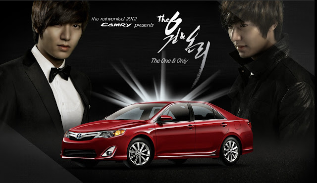 "Watch and Download Mini Drama ""The One and Only"" 2012 with Lee Min Ho Toyota Camry English Subttile"