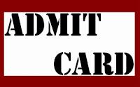NID Admit Card