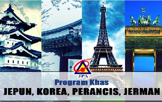 Penawaran Penajaan Program Khas Kejuruteraan Jepun, Korea, Perancis dan Jerman (JKPJ)
