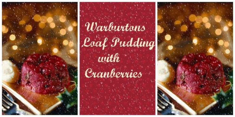 Warburtons Loaf  Pudding with Cranberries