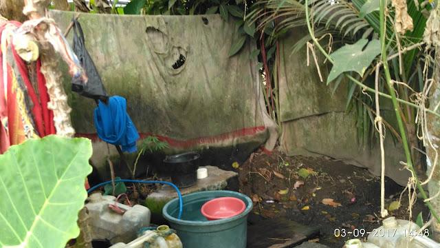 Kondisi salah satu MCK di Slerok Desa Slateng Kec. Ledokombo - Jember