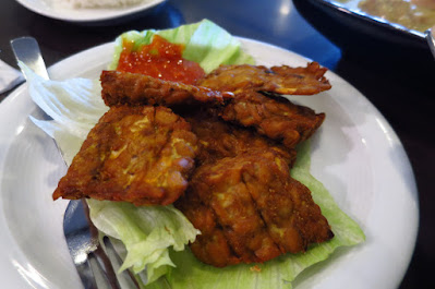 Tambuah Mas, tempe goreng
