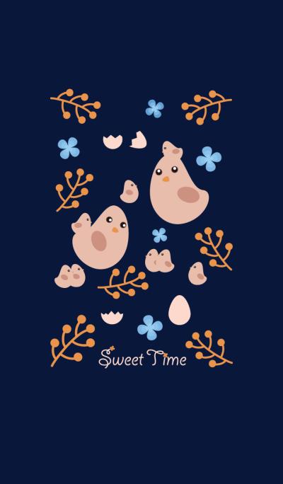 Birds' Sweet Time