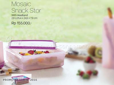 Mosaic Snack Stor  ~ Tupperware Promo Oktober 2016