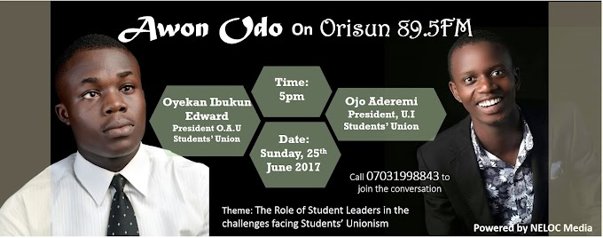 Dr Ibk and Ojo Aderemi to air their views on Unionism