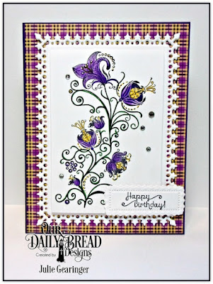 Our Daily Bread Designs, Seeds of Today, Lavish Layers Dies, Plum Pizzazz Collection 6x6 Paper Pad, Designed by Julie Gearinger