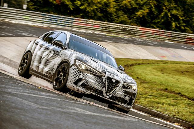 Alfa Romeo Stelvio QV becomes the fastest SUV