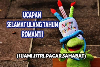 gambar ucapan selamat ulang tahun romantis untuk suami istri