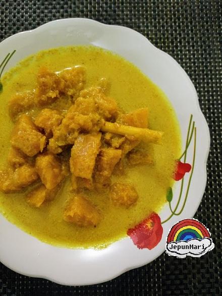 resepi masak labu lemak kuning jepun mari Resepi Masak Lemak Cili Api Labu Air Enak dan Mudah