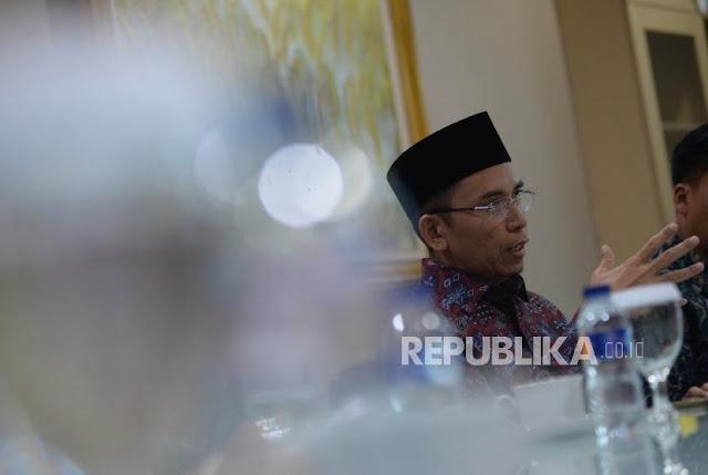 TGB Soal Hubungannya dengan Ustaz Somad Usai Dukung Jokowi