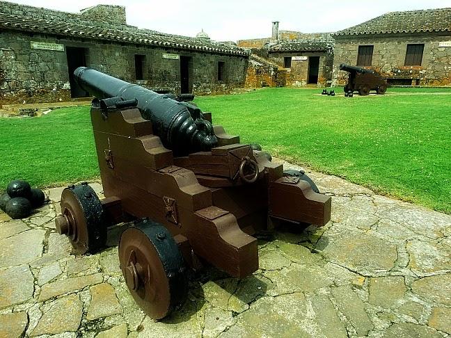Visão Interna do Fuerte de San Miguel, no Fuerte de San Miguel, Chuy