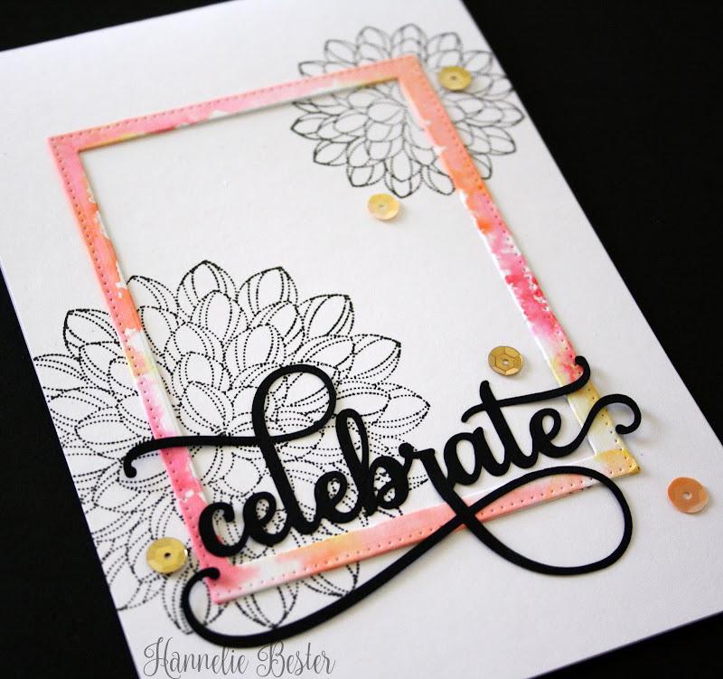 celebrate - penny black dahlia