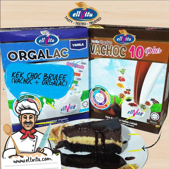 Vachoc 10plus Ellvita | Revolusi Baru Minuman Berasaskan Susu Kambing Berperisa Vanilla + Coklat