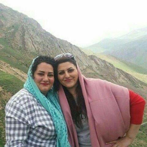 زندانیان سیاسی گلرخ ایرایی و آتنا دائمی