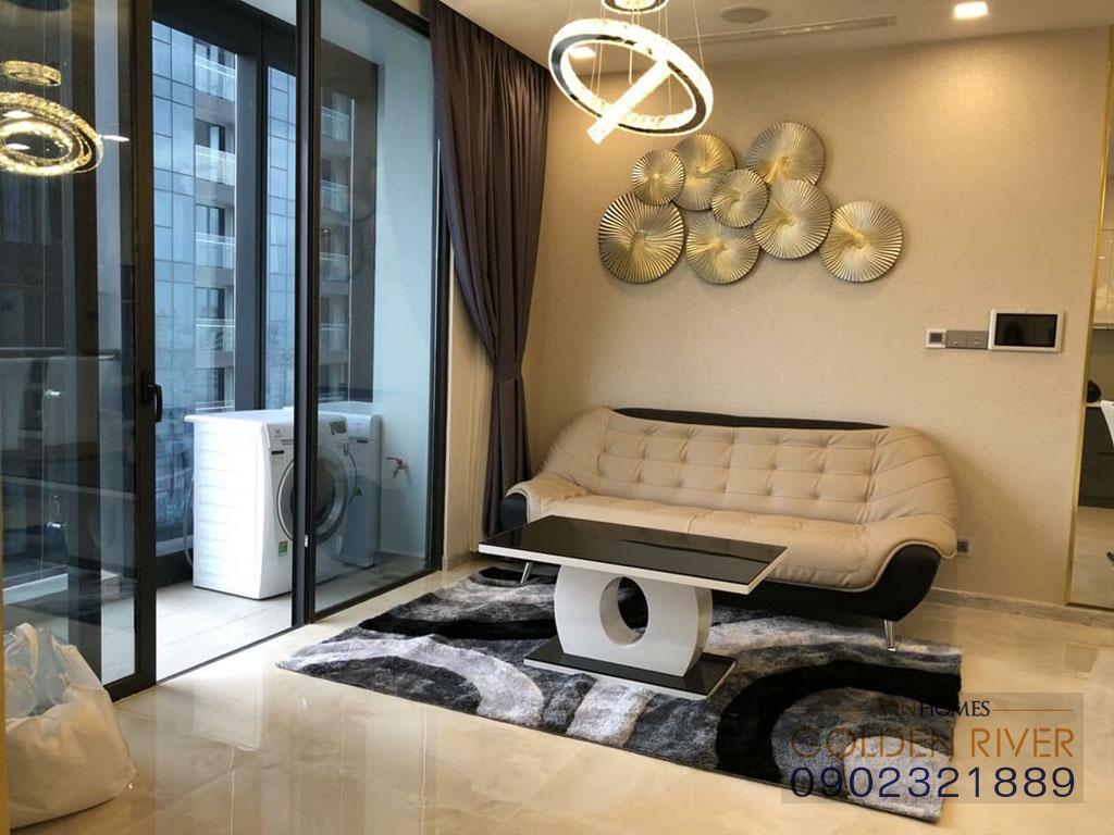 Cho thuê officetel 2 phòng ngủ Vinhomes Golden River Aqua 1 - hình 5