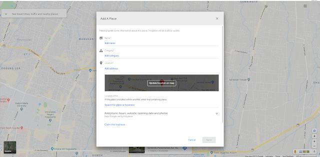 Cara Mendaftarkan Tempat UsahaBisnis di Google Maps