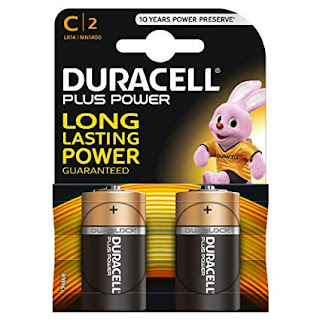 duracell plus power mezza torcia mn1400