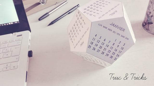 calendrier deco