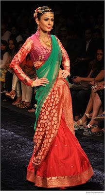 Top-blouse-designs-pattern-for-lehenga-choli-for-woman-9