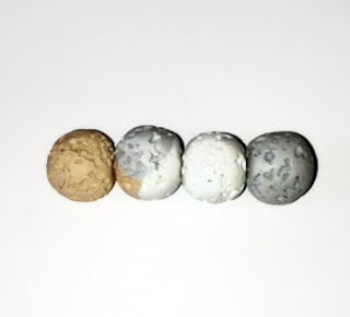 My Polymer Clay Lava Beads